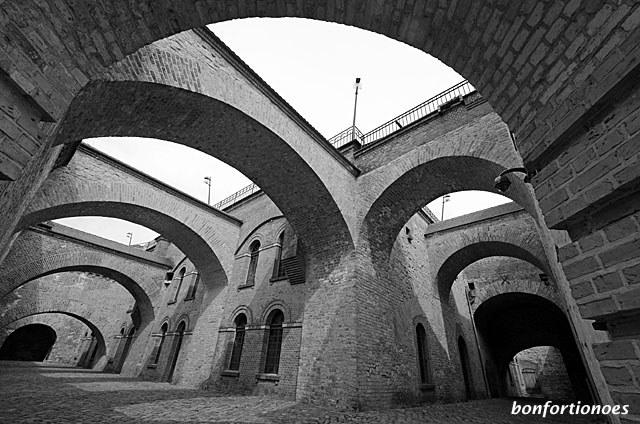 Schwibbögen in der Zitadelle Spandau