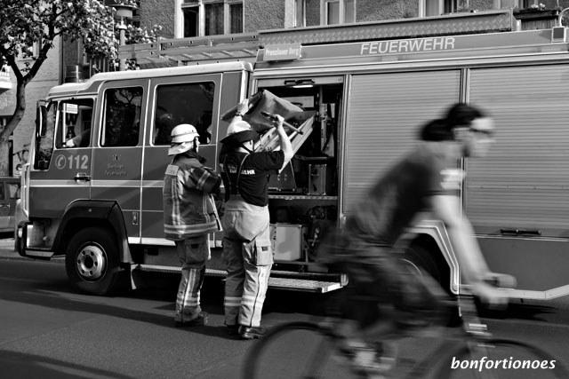 Schneller als die Feuerwehr