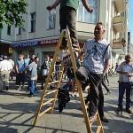Die Leiter nach oben: Dance on the top!