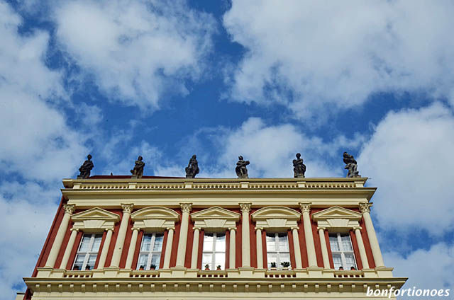 Fassade Hiller-Brandtsche Häuser in Potsdam