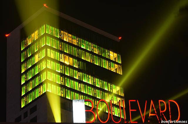 Urbane Leuchtspuren