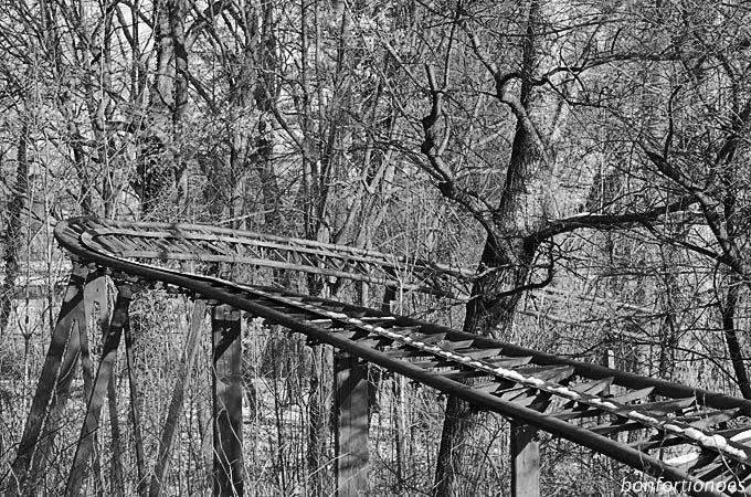 Achterbahn im Plänterwald