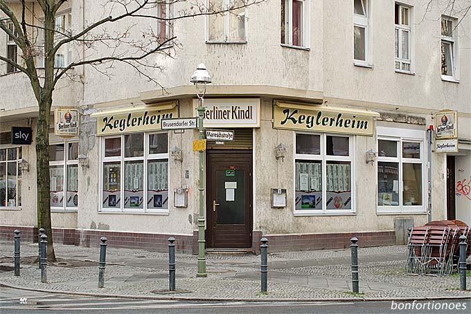 "Eckkneipe ""Keglerheim"" in Neukölln"