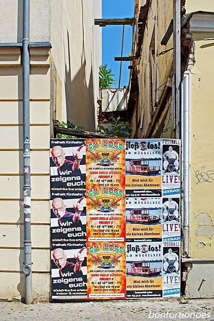 Werbeuntererbrechung in Berlin-Köpenick