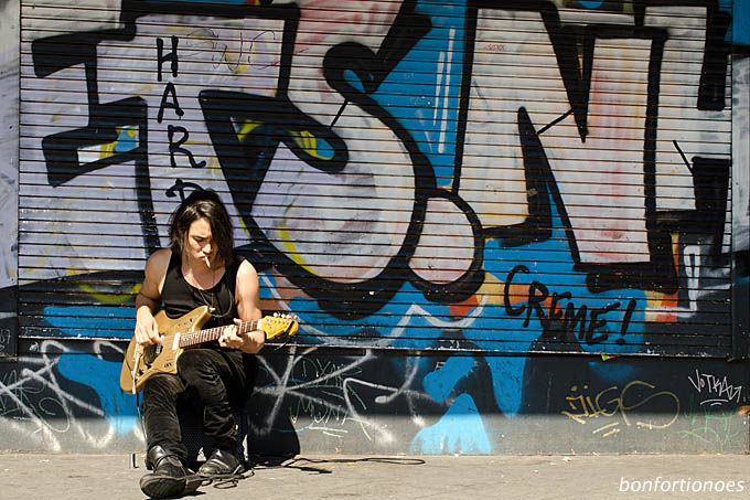 Gitarrenspieler am Kottbusser Tor