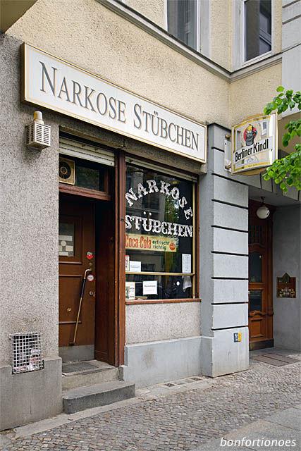 Das Narkosestübchen in Berlin-Schöneberg