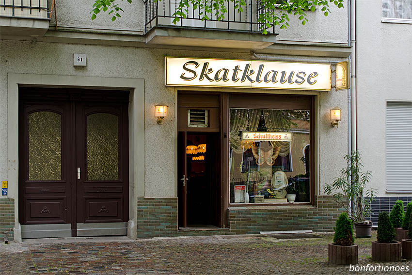 Skatklause in Berlin-Tegel