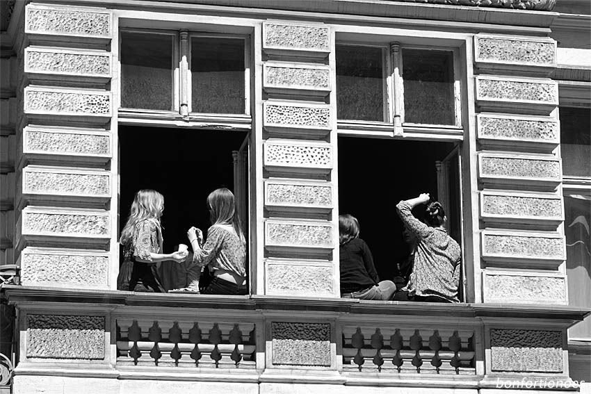 Partyfenster in Berlin-Kreuzberg